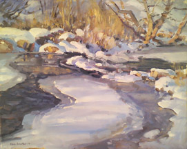 Freezing Weber River Ken Baxter