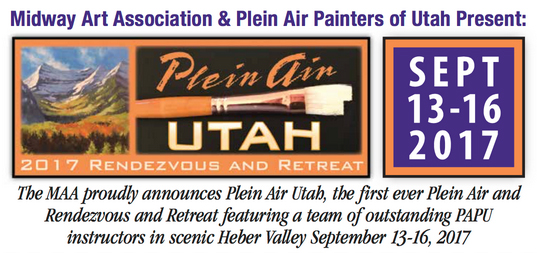 Plein Air Painters of Utah Fall Retreat